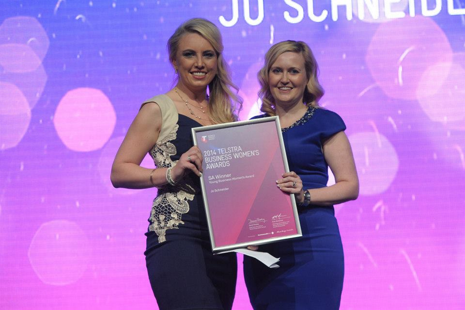 Jo - SA Telstra Young Business Woman of the Year