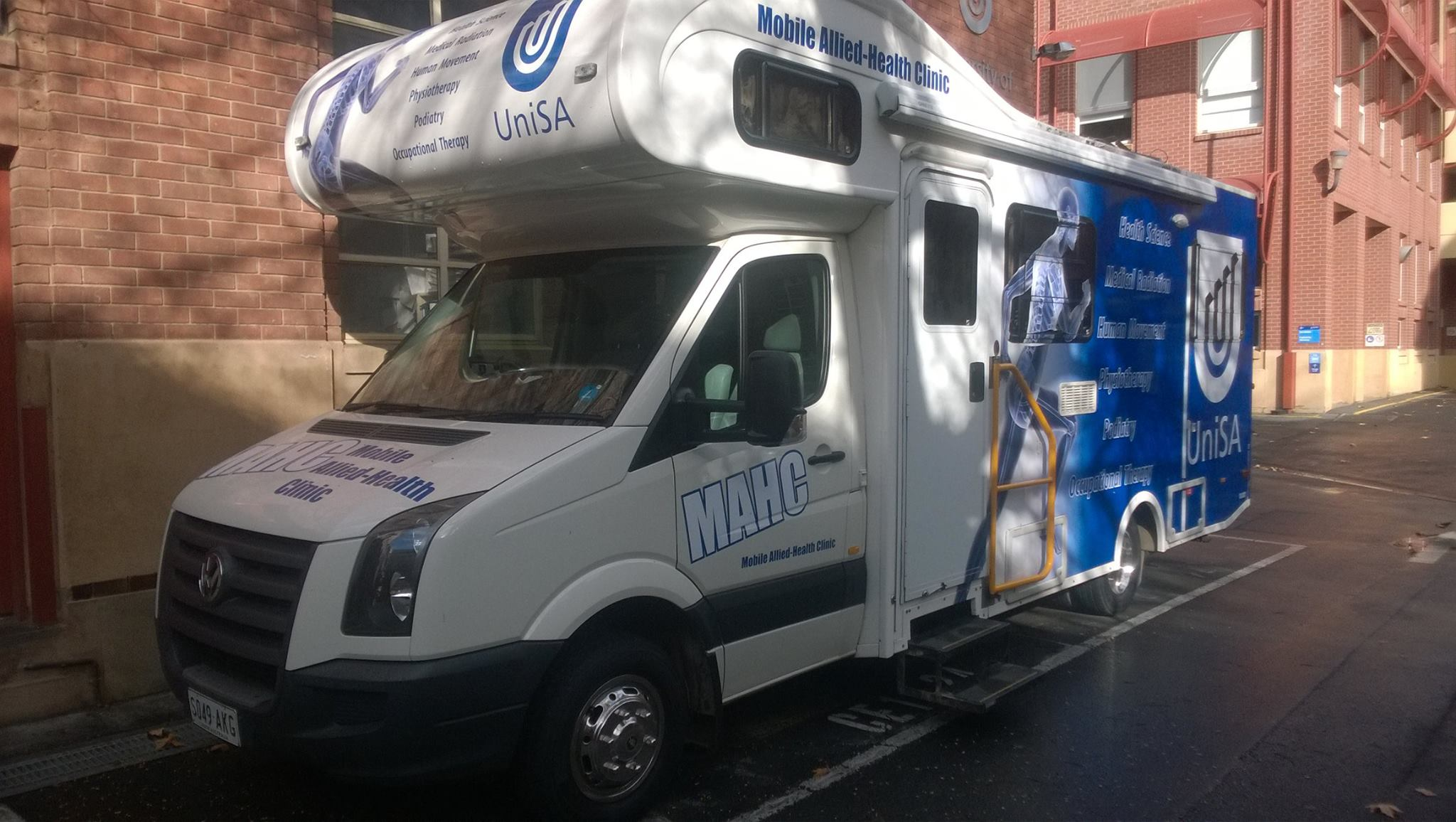 UniSA & Helping Hand Mobile Health Unit Launch